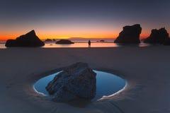 Playa de Bandon Foto de archivo