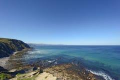 Playa de Barrika Стоковая Фотография RF