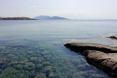 Playa de Bodrum Fotos de archivo libres de regalías
