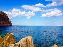 Playa de Bolata Fotos de archivo