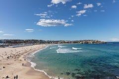 Playa de Bondi en Sydney, Nuevo Gales del Sur, Australia fotografía de archivo