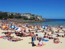 Playa de Bondi, Sydney, Australia Foto de archivo