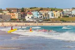 Playa de Bondi - Sydney, Australia Fotografía de archivo libre de regalías