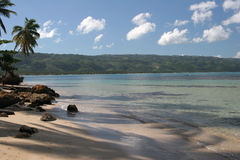 Playa de Bonita, República Dominicana Imágenes de archivo libres de regalías