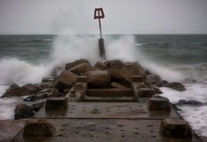 Playa de Bournemouth foto de archivo libre de regalías