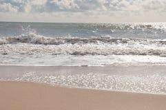 Playa de Bournemouth, Dorset Imagenes de archivo