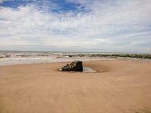 Playa de Braystones Imagenes de archivo