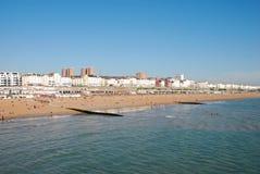Playa de Brighton foto de archivo libre de regalías