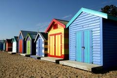 Playa de Brighton, Melbourne Foto de archivo libre de regalías