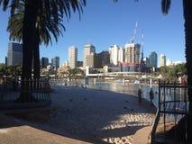 Playa de Brisbane Southbank Imagen de archivo libre de regalías