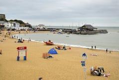 Playa de Broadstairs Imagenes de archivo