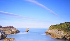 Playa de Buelna. fotos de archivo