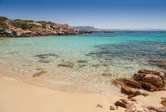 Playa de Cala Zavagli en Cerdeña fotos de archivo libres de regalías