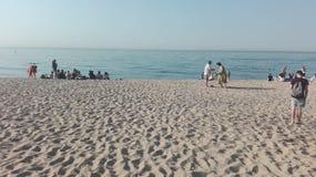 Playa DE Calella Stock Foto