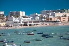 Playa de Caleta Foto de archivo libre de regalías