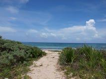 Playa de Cancun Imagenes de archivo