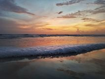 Playa de Candolim Imagenes de archivo