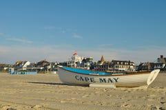 Playa de Cape May Imagen de archivo libre de regalías