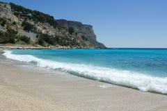 Playa de Cassis Foto de archivo libre de regalías
