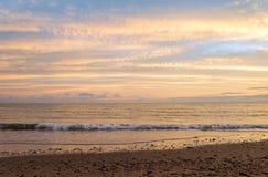 Playa de Cavendish por la mañana Imágenes de archivo libres de regalías