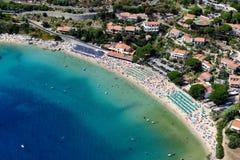 Playa de Cavoli Imagen de archivo libre de regalías
