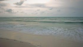 Playa de Caweng Fotos de archivo libres de regalías