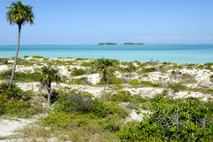 Playa de Cayo Guillermo, Cuba Foto de archivo