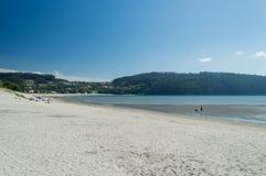 Playa de Cedeira Foto de archivo