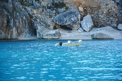 Playa de Cerdeña foto de archivo
