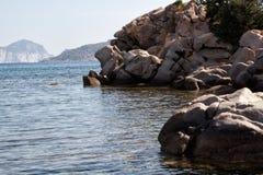 Playa de Cerdeña Imágenes de archivo libres de regalías