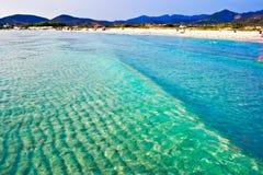 Playa de Cerdeña imagen de archivo libre de regalías