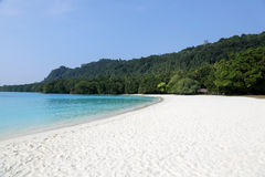 Playa de Champán, Vanuatu fotografía de archivo libre de regalías