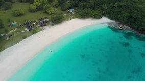 Playa de Champán, Vanuatu, isla de Espiritu Santo, Luganville, South Pacific metrajes