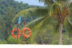 Playa de Chenang en Langkawi, Malasia imagen de archivo
