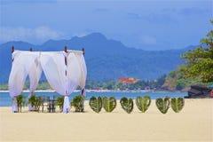 Playa de Chenang en Langkawi, Malasia fotografía de archivo