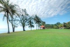 Playa de Cherating, Kuantan, Malasia Imágenes de archivo libres de regalías