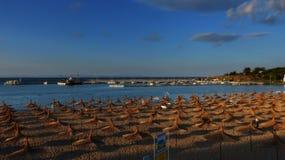 Playa de Chernomorets fotos de archivo