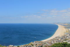 Playa de Chesil Foto de archivo
