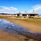 Playa de Chesil Fotografía de archivo libre de regalías