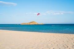 Playa de Chia Foto de archivo
