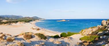 Playa de Chia Foto de archivo libre de regalías