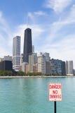 Playa de Chicago fotografía de archivo
