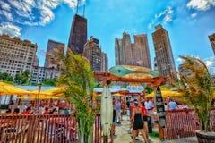 Playa de Chicago Foto de archivo libre de regalías