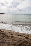 Playa de Chipre Foto de archivo libre de regalías