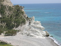 Playa de Chipre Fotografía de archivo