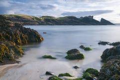 Playa de Clachtoll Imágenes de archivo libres de regalías