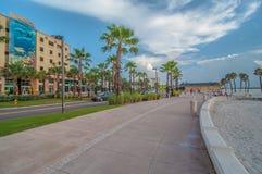 Playa de Clearwater Foto de archivo libre de regalías