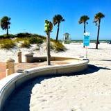 Playa de Clearwater Fotografía de archivo libre de regalías