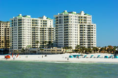 Playa de Clearwater, la Florida imagen de archivo