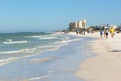 Playa de Clearwater, la Florida Imágenes de archivo libres de regalías